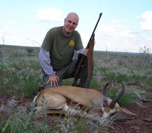 Namibia Hunting Trophy - Springbok