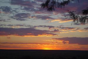 Hunting Namibia - Sunset
